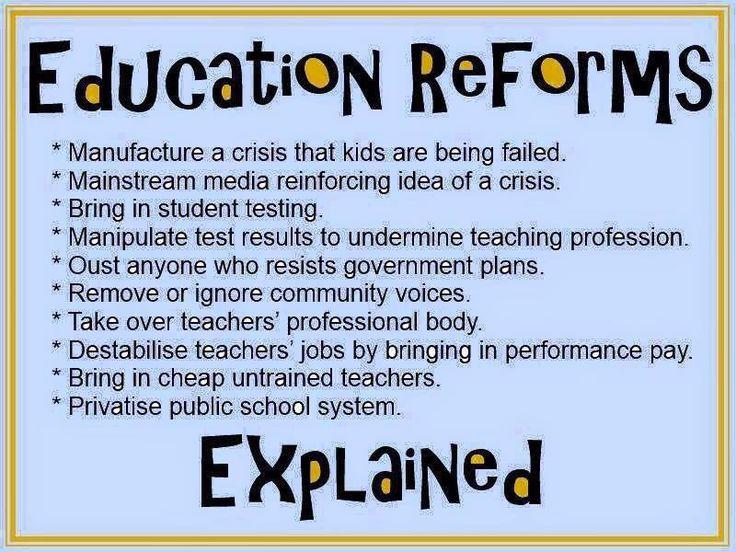 education-reform explained